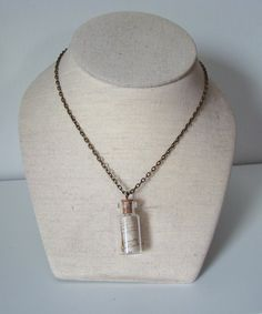Message in a bottle necklace £7.00