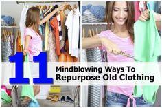 11 Mindblowing Ways To Repurpose Old Clothing
