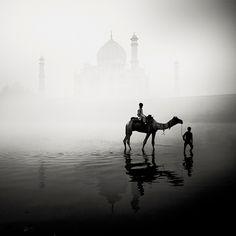 Hauntingly beautiful black and white photographs of India.