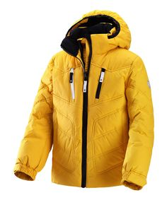 Yellow Tian Water-Resistant Jacket - Kids by Reima £69.99