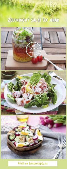Zapojte do svého jarního jídelníčku perfektní zeleninové saláty