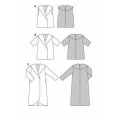 B6989 - Coats & Jackets - Burda Patterns