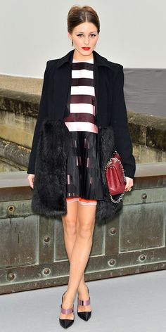 Look of the Day - March 3, 2013 - Olivia Palermo in Christian Dior from #InStyle