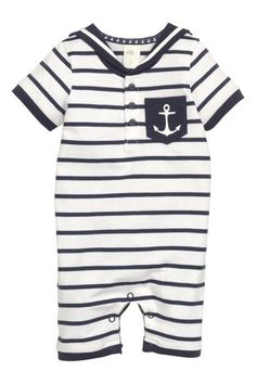 Sailor suit rompers | H&M