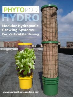 Phytopod® Vertical Gardening Containers are the great new way to enjoy a REAL garden in limited s&; Phytopod® Vertical Gardening Containers are the great new way to enjoy a REAL garden in limited s&;