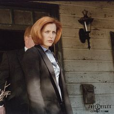 'The X-Files': Gillian Anderson Reveals First Reaction After Watching The Revival Premiere The X Files, Gillian Anderson, Stella Gibbons, Fbi Special Agent, Star Character, Dana Scully, Sci Fi Series, David Duchovny, Cancer Man