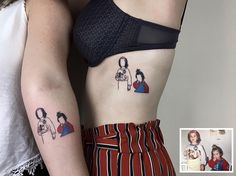 Des tatouages de photos denfance par Alican Gorgu  2Tout2Rien