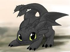 How to draw chibi toothless, Step by Step, Dragons, Draw a Dragon . Toothless Drawing, Baby Toothless, Toothless And Stitch, Toothless Tattoo, How To Draw Toothless, Chibi, Cute Disney, Disney Art, Photo Pokémon