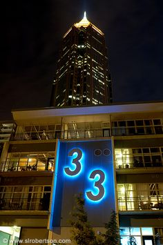 Bank of America Tower, Atlanta - night view