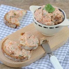 Découvrez la recette des rillettes aux deux saumons