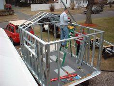 Anyone use metal studs framing ice shack???