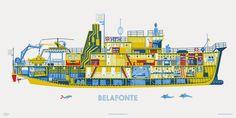 La Pequeña ciudad de P.: Belafonte Boat