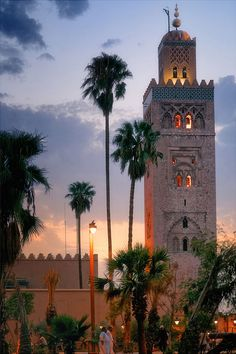 Koutoubia Mosque, Marrakesh http://reversehomesickness.com RePinned by : www.powercouplelife.com
