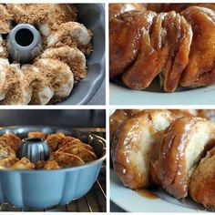 Sticky Bun Breakfast Ring (similar to my Monkey Bread recipe). This looks easy and delicious. Birthday breakfast, just add candles. Friend for coffee. Holidays. And mornings I want my teenagers to wake up to something smelling scrumptious!