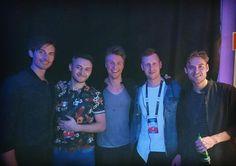 Że bracia z Danii...? xD #denmark #lighthousex #euroclub #eurovision #party #fun by aarti.jag