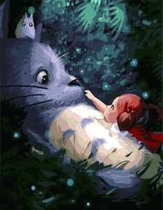 My Entertainment • Hang With Totoro.