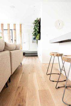Inspiring ideas for light wood floors - Wood Design - Flooring Decor Living Room Wood Floor, Living Room Flooring, Kitchen Flooring, Living Rooms, Kitchen Living, Kitchen Wood, Tile Living Room, Kitchen Ideas, Kitchen Layouts