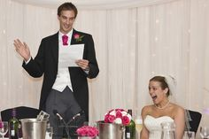 Making a wedding speech really isn't such a daunting task, and you should keep telling yourself that. But if you're feeling tongue tied at the very thought, here's some tips to help you make the perfect speech…