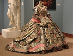 Absolutely stunning!  Exhibition of Linda Leyendecker Gutierrez ballgowns. From Laredo, TX, this designer creates these one of a kind, hand sewn ballgowns for the Martha Washington Society debutantes. Brit Gal in the USA: A visual feast of stunning beauty!