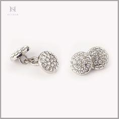 HULBER metallic cufflinks Diamond Earrings, Stud Earrings, Cufflinks, Metallic, Jewelry, Jewlery, Bijoux, Studs, Schmuck