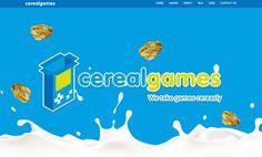 Website para a empresa de desenvolvimento de videojogos, a Cereal Games. Mais um projeto da DDDD Produções com aceitação pela galeria CSS Mania :)