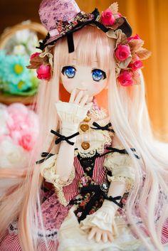Ooak Dolls, Blythe Dolls, Girl Dolls, Kawaii Doll, Kawaii Anime, Pretty Dolls, Beautiful Dolls, Lolita Gothic, Personajes Monster High