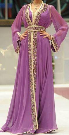 Moroccan purple takchita #moroccancaftan