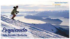 O inverno está chegando e com ele a temporada de esqui.  Aproveite para viver as melhores aventuras nas principais estações de esqui do Valle Nevado e Bariloche.  Entre em contato conosco e monte o pacote sob sua medida.  Informações e reservas pelo telefone: (16) 3332-9898 E-mail: vendas@businessclasstour.com.br
