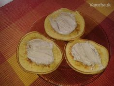 Pudingové lievance Low Carb Recipes, Camembert Cheese, Detox, Paleo, Breakfast, Sweet, Desserts, Fitness, Dukan Diet