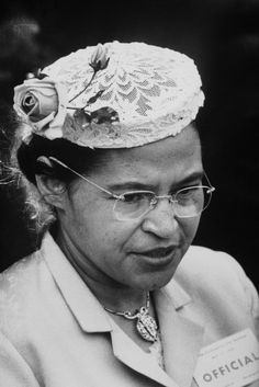 Rosa Parks...Civil Rights heroine Rosa Parks touched off the Montgomery, Alabama bus boycott by refusing to give up her seat in the colored section to a white passenger. Parks was arrested for civil disobedience but not without becoming an influential symbol for racial equality. Her court case served as step towards ending segregation laws in the south.