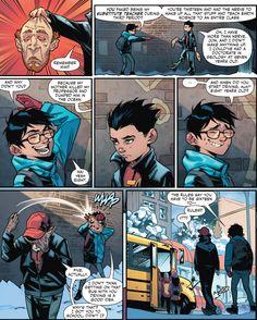 Damian and John   This makes me so sad, Damian never had a childhood