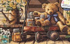 Дизайнер Doug Knutson. Honey Bear and Wagon Flowers