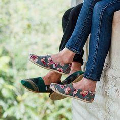 #ShareIG His & hers. New prints & patterns give our Classics a simple refresh. #TOMSshoes
