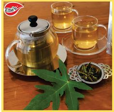 Papaya leaves can be steamed and eaten and in some countries, they are used to make tea as well.