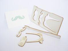 Pop out card - MOUSTACHE | Popoutcardcompany | kaartfanaat