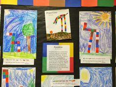 Pezzetinno Leo Lionni Kindergarten art lesson