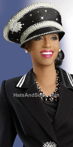 Donna Vinci Couture Church Hat H1342