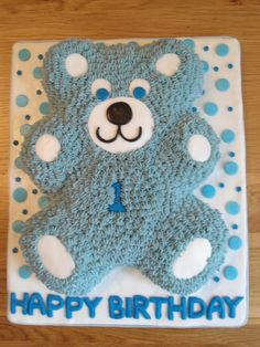 Cake for a 1 year old boy