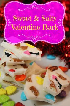 Valentine's Day is right around the corner, so why not make some Sweet & Salty Valentine Bark. It is a simple and fun treat to make for the ones you love!