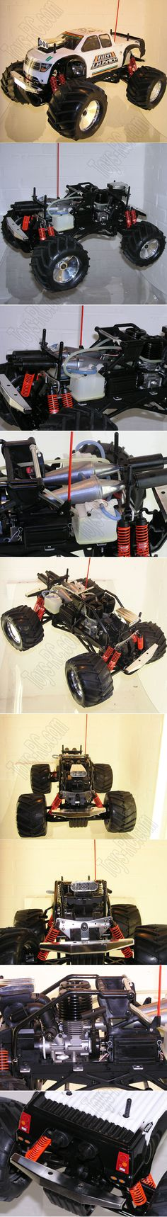 Kyosho Giga Crusher 1/8 scale Twin engine Vintage monster Truck http://www.toys-rc.com/kyosho-giga-crusher-18-scale-twin-engine-vintage-monster-truck-p-200.html