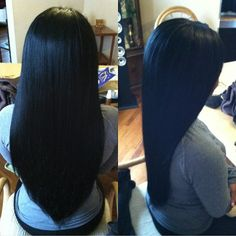 Almost the perfect example.. If only she had layers & a little color in there...