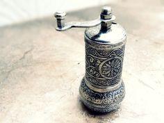 Vintage hand mill Turkish coffee GRINDER by TurkishMuseum on Etsy, $28.00