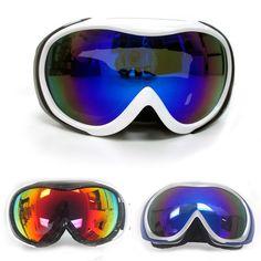 73c154259cf36 Adult Snowboard Ski Goggles Anti-Fog Double Lens Motocross Snow Skiing  Sunglass