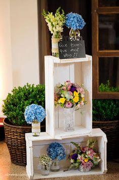 Coisas de Casa e Tal...: Ideias de decoração para festas ao ar livre