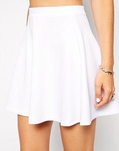Enlarge ASOS Skater Skirt in Texture