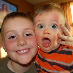 Brotherly love....... Brotherly Love, Boys, Face, Baby Boys, The Face, Senior Boys, Sons, Faces, Guys