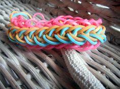 Raindrop Rainbow Loom Bracelet