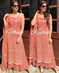 Party Wear Indian Dresses, Designer Party Wear Dresses, Indian Gowns Dresses, Kurti Designs Party Wear, Indian Fashion Dresses, Dress Indian Style, Indian Wedding Outfits, Indian Designer Outfits, Indian Outfits