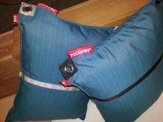 New colours and designs Big Pillows, Colours, Backpacks, Bags, Design, Fashion, Handbags, Moda, Fashion Styles