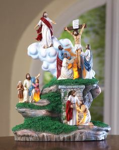 Easter Jesus and Stations of Cross Figurine